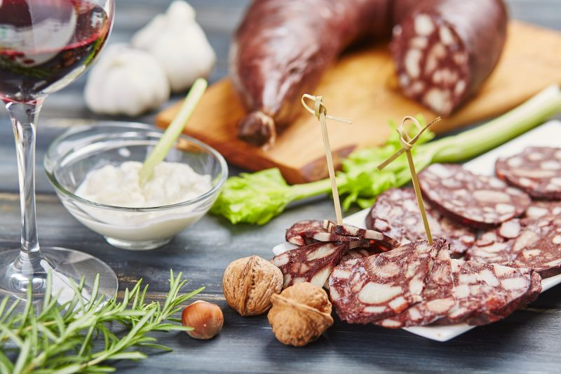 Blood sausage - Salumificio Bellavista Buggiano Pistoia Italy