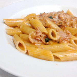 Penne with Certified Tuscan Ham